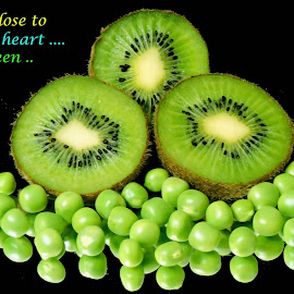 peas           by SANGEETA MENA  - Typography Quotes & Sentences