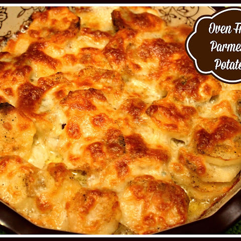 Oven Fried Parmesan Potatoes!