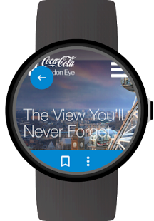 Web Browser for Android Wear Screenshot