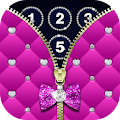 Diamond Zipper Lock Screen APK for Bluestacks