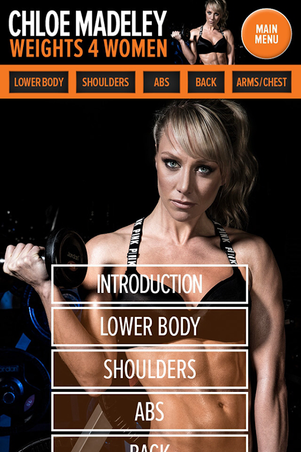 Chloe Madeley Weights 4 Women Screenshot 3