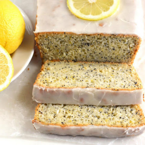 Gluten Free Lemon Poppyseed Bread