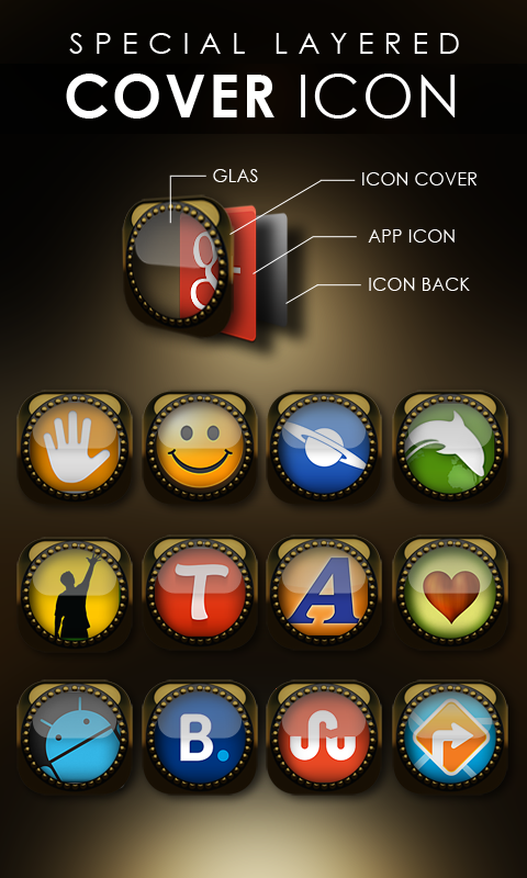 KONG Next Launcher theme Screenshot 2