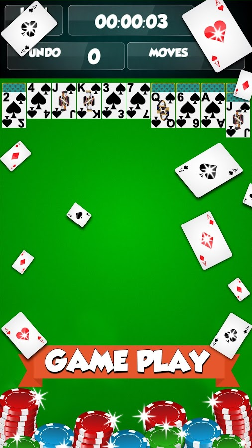 Spider Solitaire - Card Games Screenshot 2