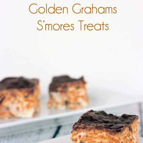 Golden Grahams S'mores Treat