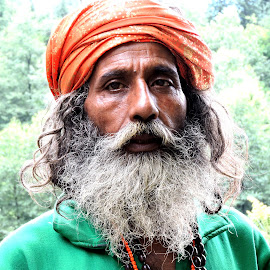 SADHU BABA by SANGEETA MENA  - People Portraits of Men (  )
