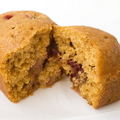 Mini Pumpkin and Cranberry Loaves