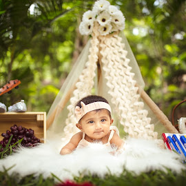 Coming Out by Shashi Patel - Babies & Children Babies ( shashiclicks, shashi patel, baby, india, girl )