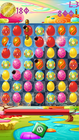 android Candy Egg Saga Screenshot 0