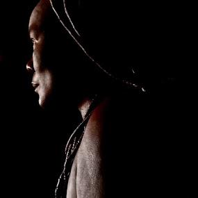 Himba Lady by Rebecca Pollard - People Street & Candids