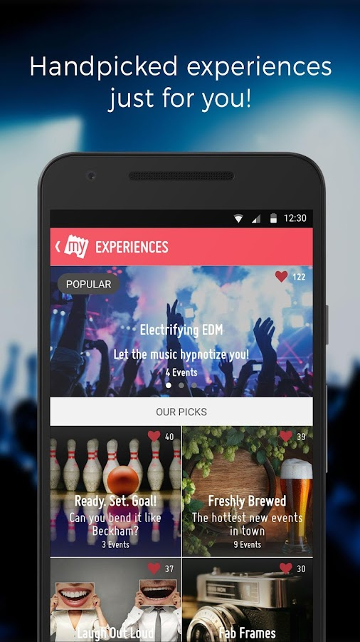 BookMyShow–Movie Tickets,Plays Screenshot 2