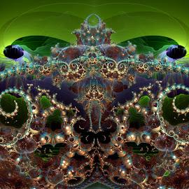 Philoh's Kingdom by Rick Eskridge - Illustration Sci Fi & Fantasy ( fantasy, jwildfire, mb3d, fractal, twisted brush )