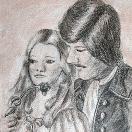 Old-time Romance by Ingrid Anderson-Riley - Drawing All Drawing