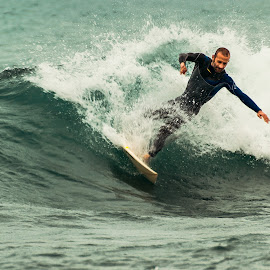 Work-out by Florin  Galan - Sports & Fitness Surfing ( surfing, street, sea, sport, man )