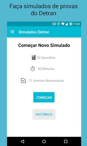 Simulados Detran - Provas screenshot 2