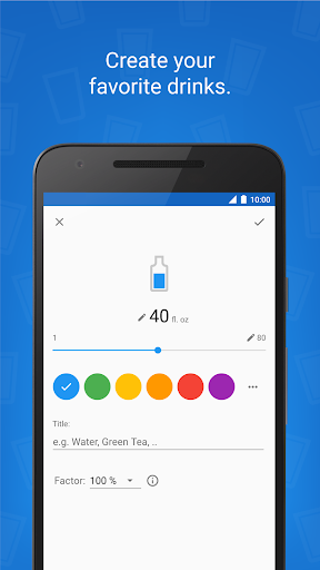 Hydro Coach - drink water screenshot 4
