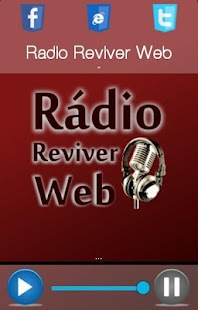 Rádio Reviver Web - screenshot
