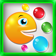smiley bubble pop game