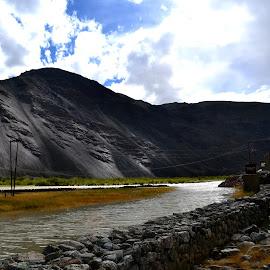 Ladakh by Monami Das - Novices Only Landscapes ( #pang )