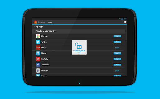 Hola Free VPN Proxy screenshot 5