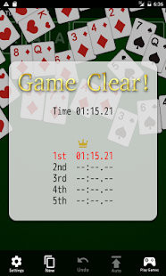 Solitaire Klondike - screenshot