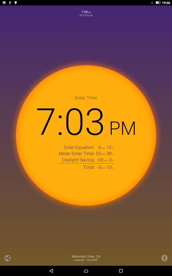 Solar Time Screenshot 6