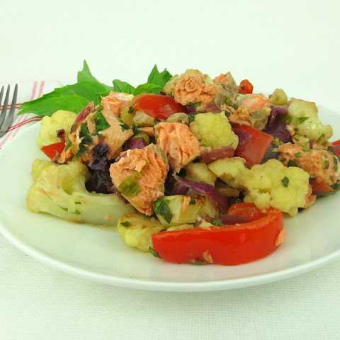 Wild Salmon Cauliflower Hash (Low-Carb, AIP-Friendly)