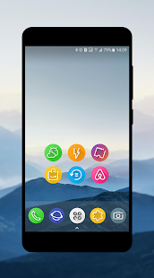 S8-UI Note 8Launcher Icon Pack- Nova, Apex, Action Screenshot