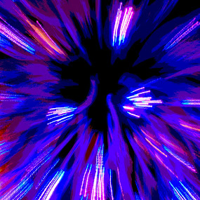 Inside the Atom by Jim Schlett - Abstract Patterns ( purple, colorful, zoom, deep space, space,  )
