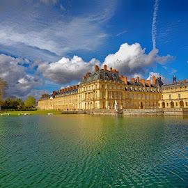 Fontainebleau by Radu Eftimie - Buildings & Architecture Public & Historical ( lake, castle )