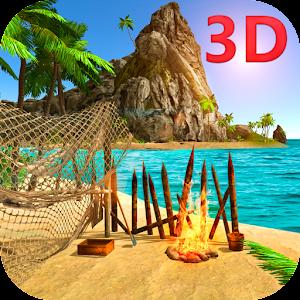Cover art Lost Island Survival Simulator