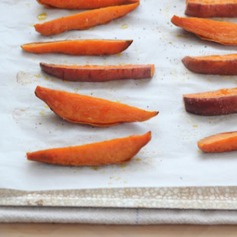 Easy Baked Sweet Potato Wedges