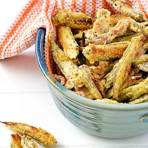 Oven-Fried Okra