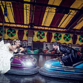 Fight of Life :) by Mike Kremer - Wedding Bride & Groom ( love, ekimpix, wedding, couple, bump )