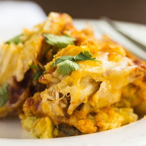 The best Mexican Chicken & Rice Casserole