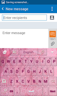 Cute Bride Keyboard - screenshot
