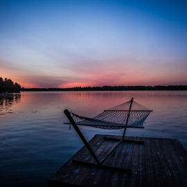 hammock by Adrian Kurbegovic - Landscapes Waterscapes