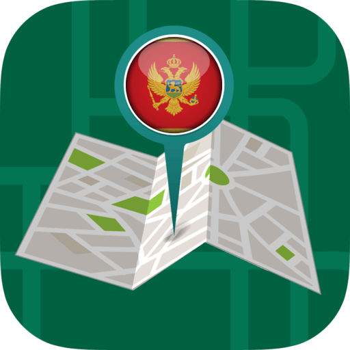 Android aplikacija 🛰️Offline Maps & Navigation by GPS: Montenegro na Android Srbija
