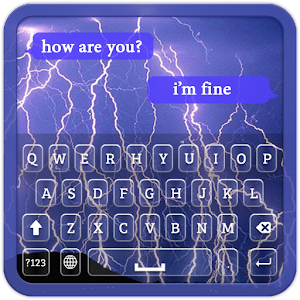 Download Lightning Keyboard Theme for Windows Phone