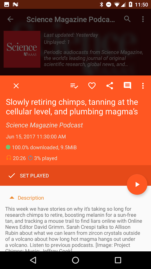 Podcast Republic - Podcast & Audiobook App Screenshot 3