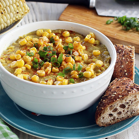 Smoky Corn and Potato Chowder [Vegan]