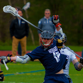 Put your hands up! by Kevin Mummau - Sports & Fitness Lacrosse ( defense, holding, turnover, strip, lacrosse )