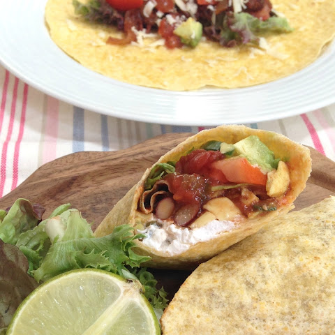 Mexican Chilli Bean Wraps
