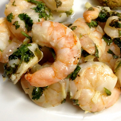 Cilantro + Lime Shrimp
