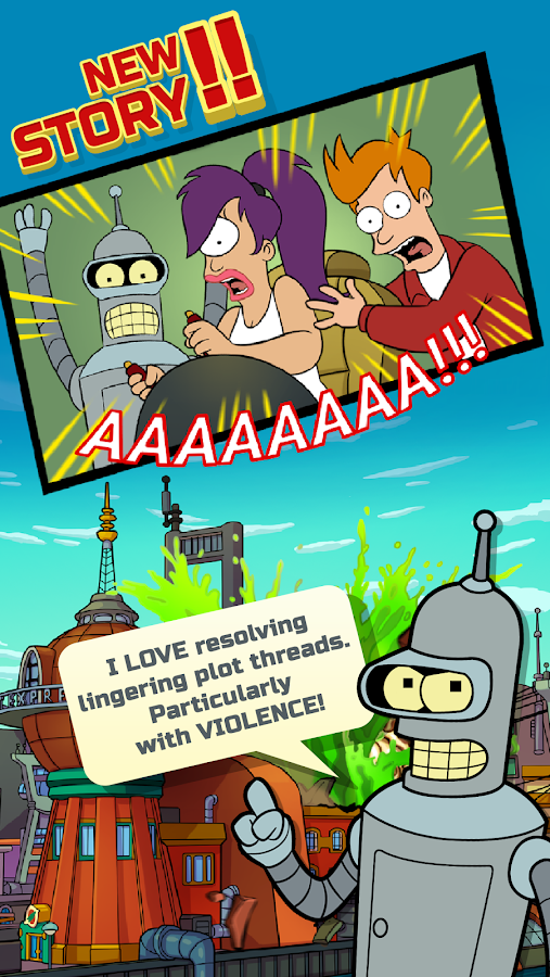 Futurama: Game of Drones Screenshot 2