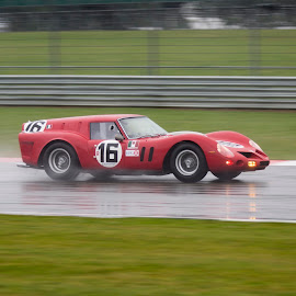 Best car in Show by James Perkins - Transportation Automobiles ( car, red, event, ferrari, silverstone, classic,  )