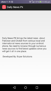 Daily News Pk - screenshot