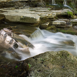 Creamery Falls by William Hayes - Novices Only Landscapes ( canon, stream, upstate, creamery falls, vanhornesville, long exposure, new york, spring )