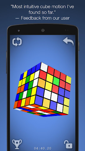 Magic Cube Puzzle 3D - screenshot
