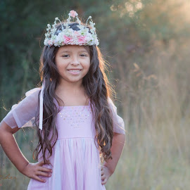Princess by Marla Hawk-Gragg - Babies & Children Child Portraits